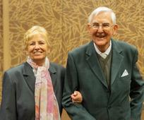 Erika und Leo Soucek vom Pfahl Wien-Österreich