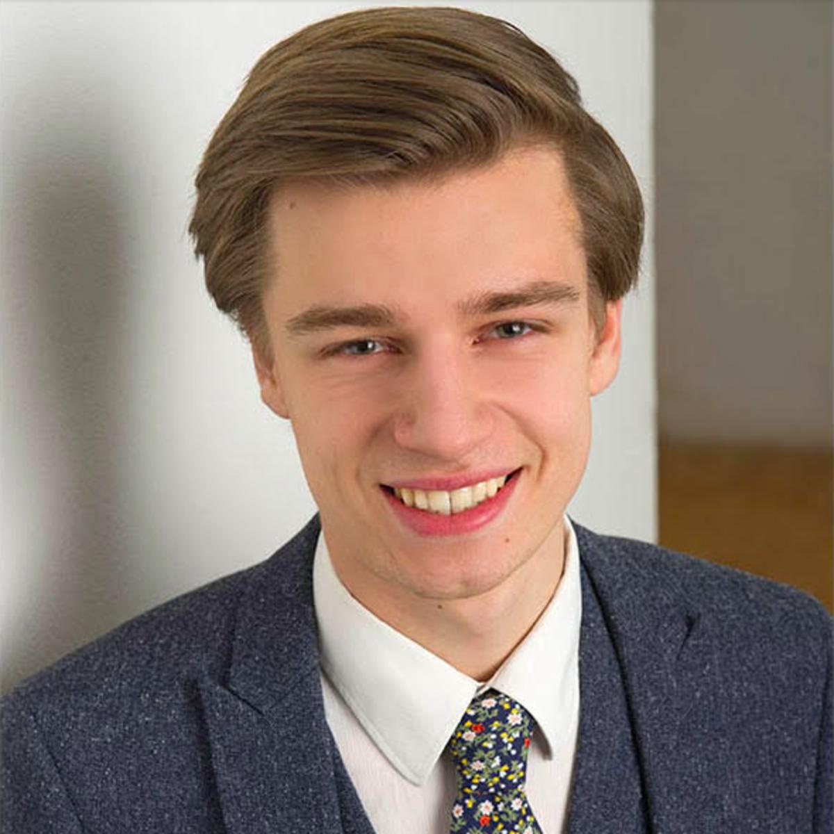 Constantin Helmrich dient in Kiew, Ukraine