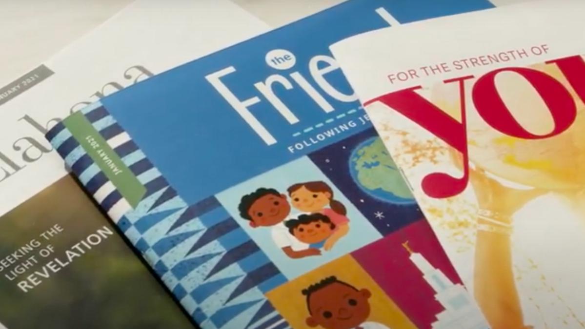 3 Zeitschriften der Kirche ab 2021