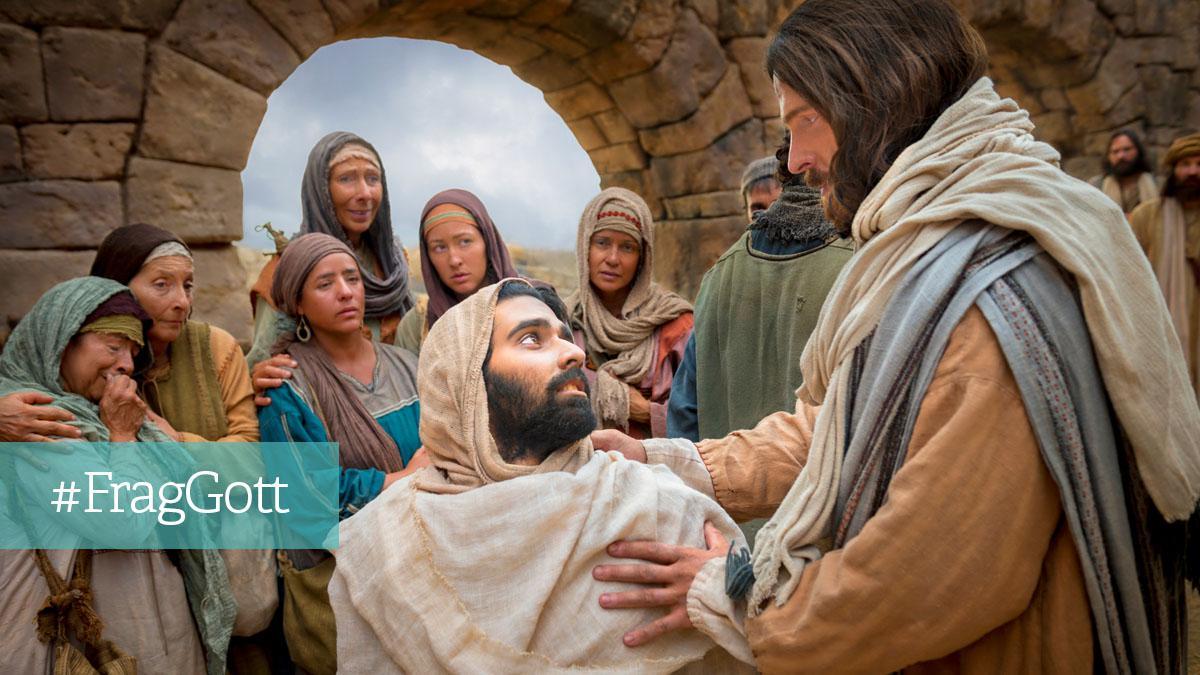 Jesus heilt einen Mann
