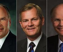Trije novi člani zbora dvanajstih apostolov