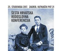 Šesta Hrvatska Rodoslovna Konferencija