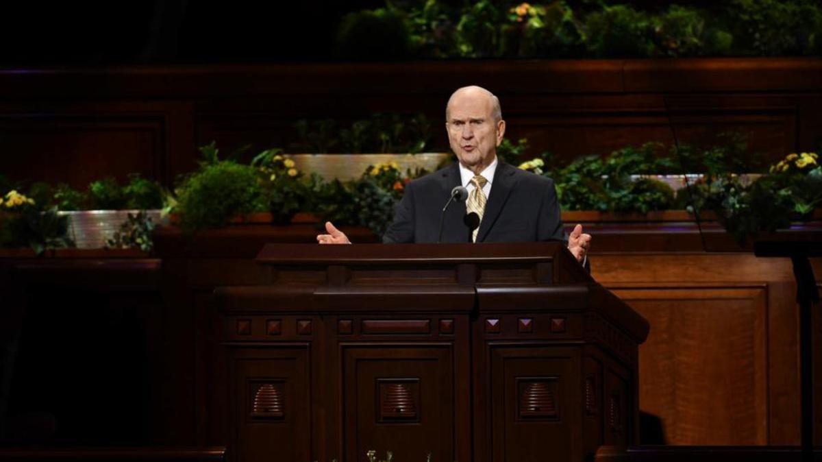 Predsjednik Nelson na općem saboru