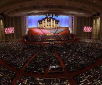Člani Cerkve Jezusa Kristusa svetih iz poslednjih dni gledajo na svetovno konferenco kot na čas razodetij