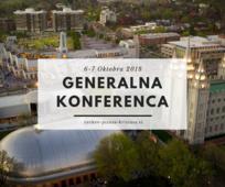 Generalna konferenca Oktober 2018