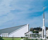 Tempelj v Frankfurtu v Nemčiji.