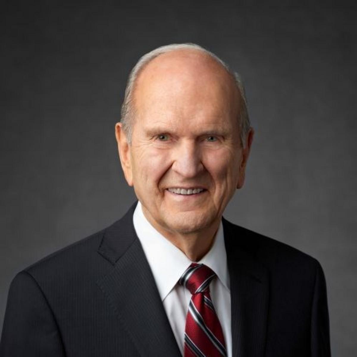 President Russell M. Nelson, president Církve Ježíše Krista Svatých posledních dnů