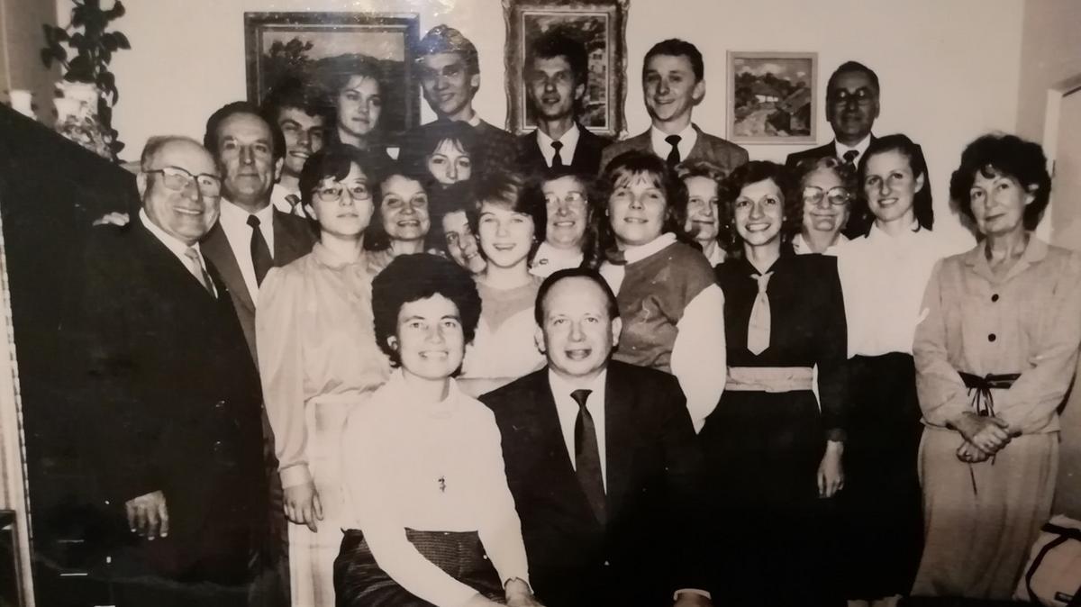 Založení odbočky Uherské Hradiště, 5. 10. 1986