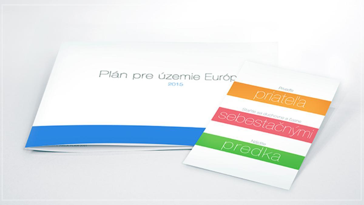 List od predsedníctve územia – plán územia na rok 2015