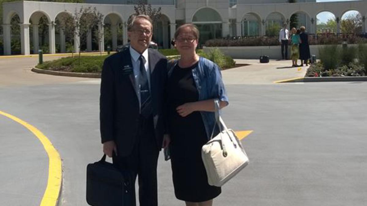 Mirja ja Esko Aromaa palasivat lähetystyöstä puolitoista vuotta rikkaampina