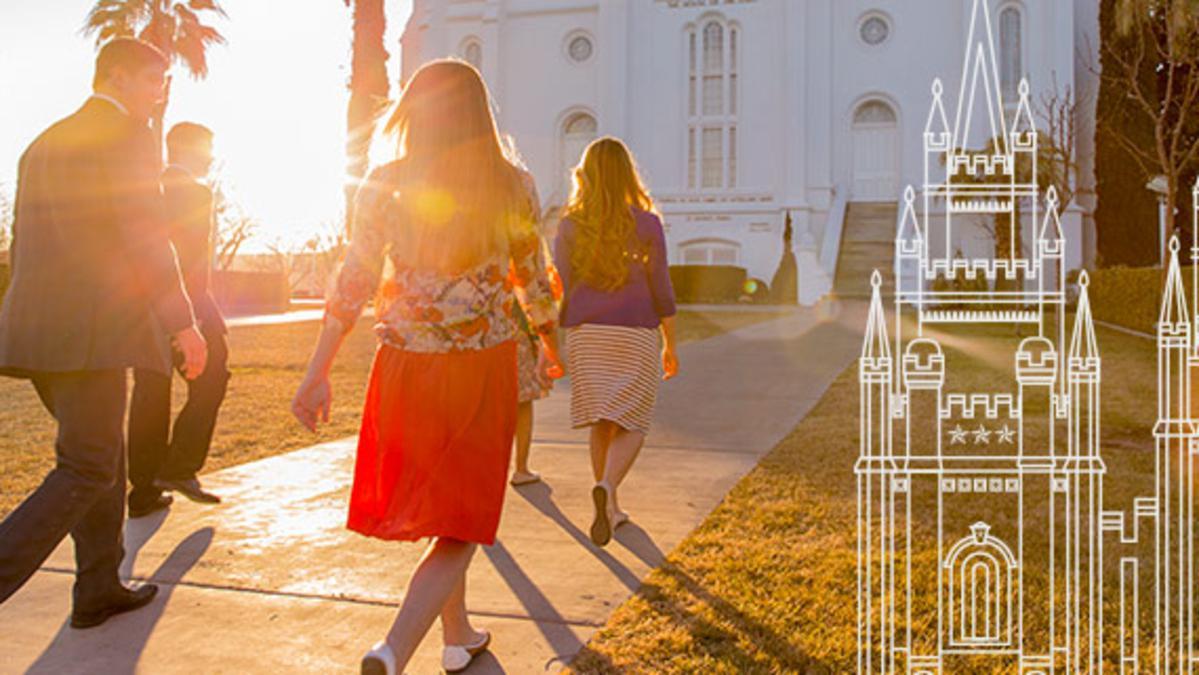 descubra o templo