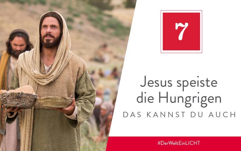 Jesus speiste die Hungrigen – das kannst du auch