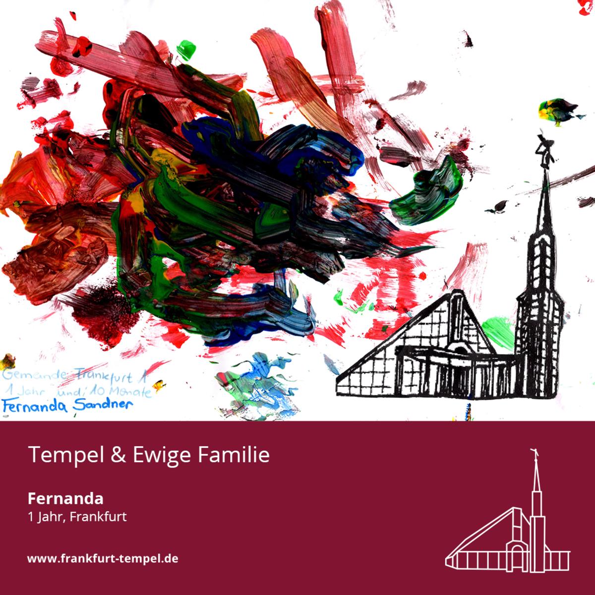 Kinderbild vom Frankfurt-Tempel