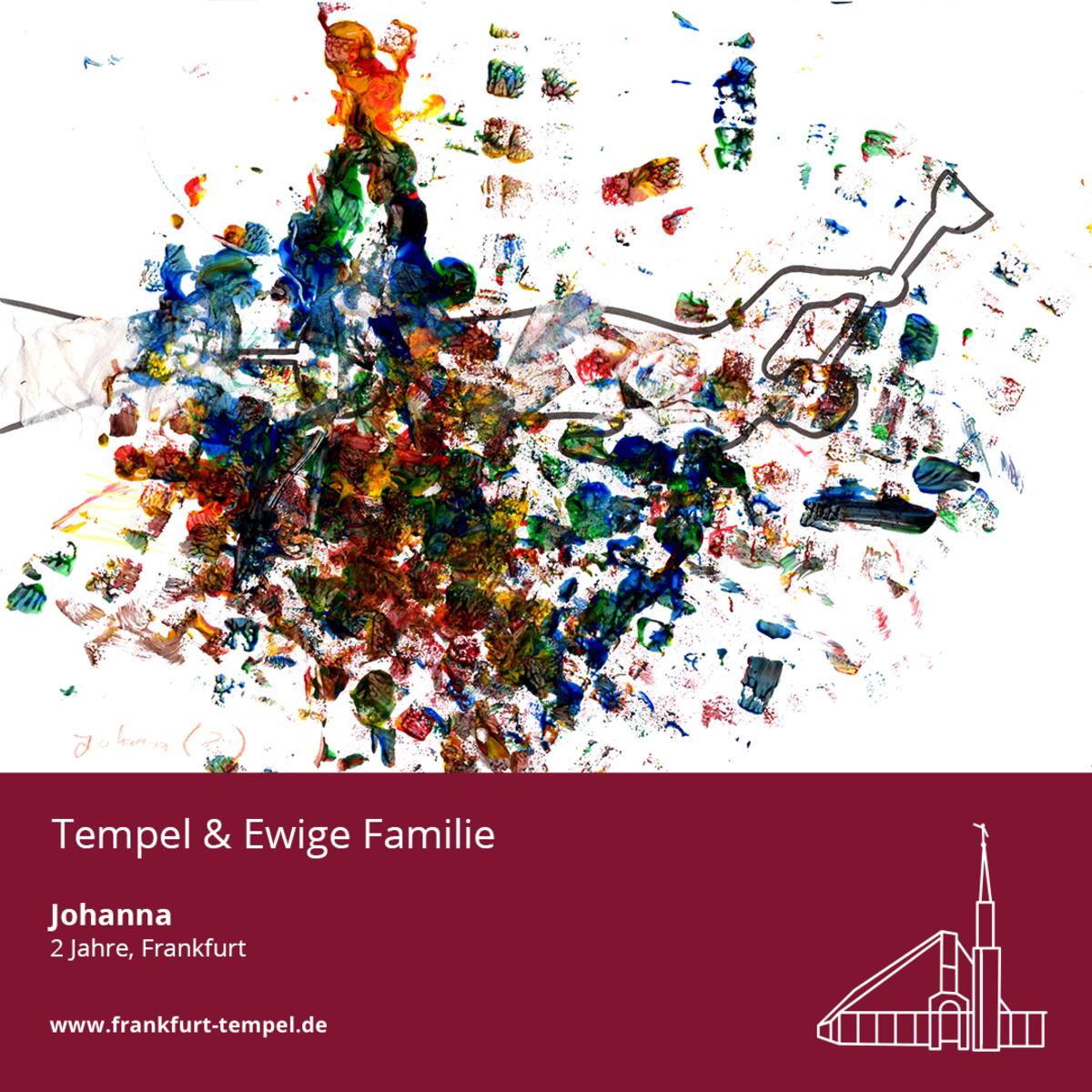 Kinderbild vom Tempel