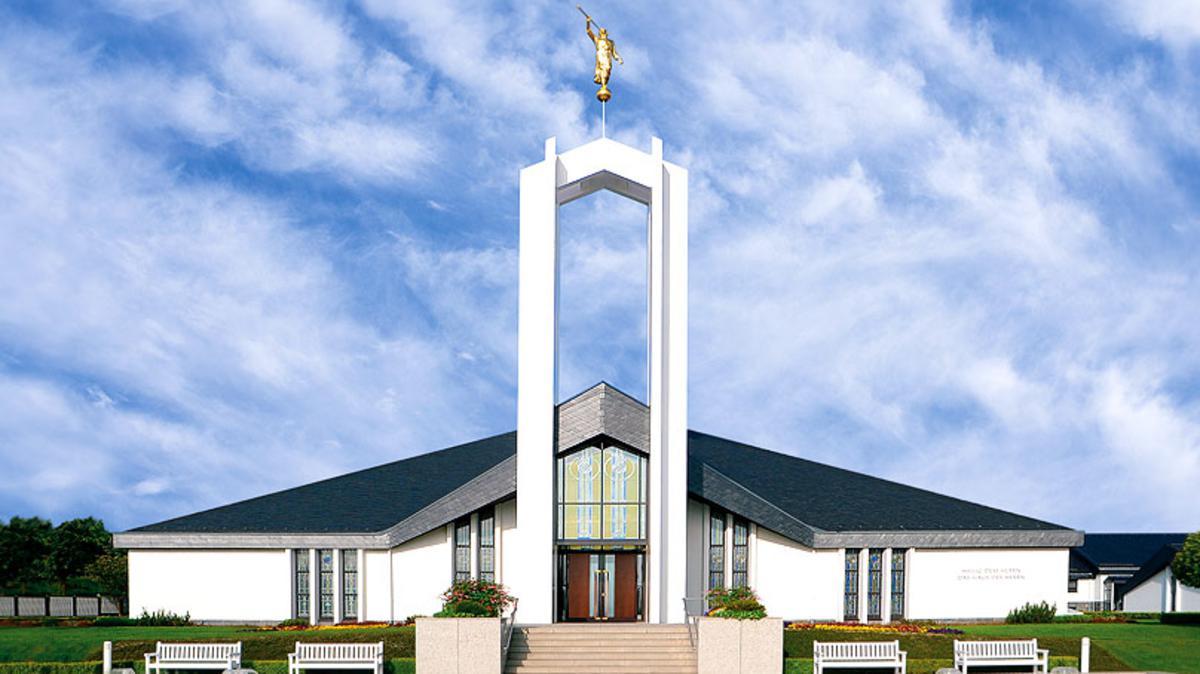 Tage der offenen Tür und Weihung des Freiberg Tempels