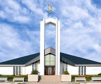 Termine für Tage der offenen Tür und Weihung des Freiberg Tempels bekanntgegeben