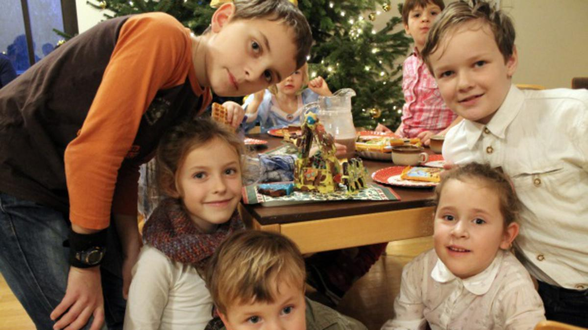 Weihnachtsplätzchen für das 'Glaube an Gott' Programm