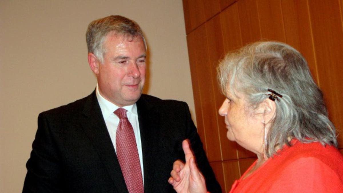 Besuch von Elder Erich Kopischke in Hamburg