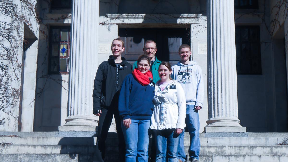Eine Taufe und ein Dankschreiben in Greifswald