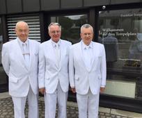 Neue Ratgeber in der Tempelpräsidentschaft des Frankfurt-Tempels berufen