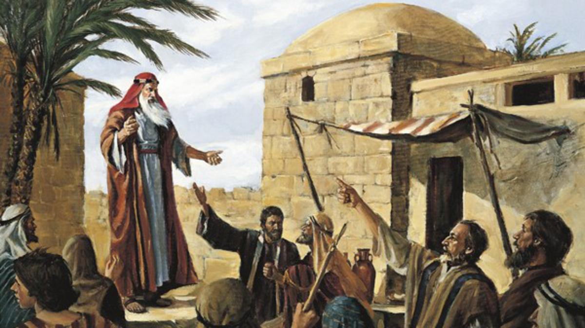 De profeet Lehi