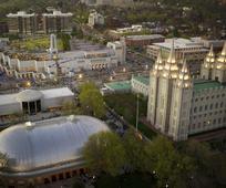 Πλατεία ναού στο Σολτ Λέικ Σίτι