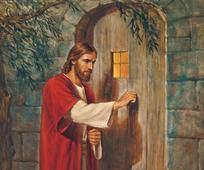 Jézus Krisztus az ajtón kopogtat