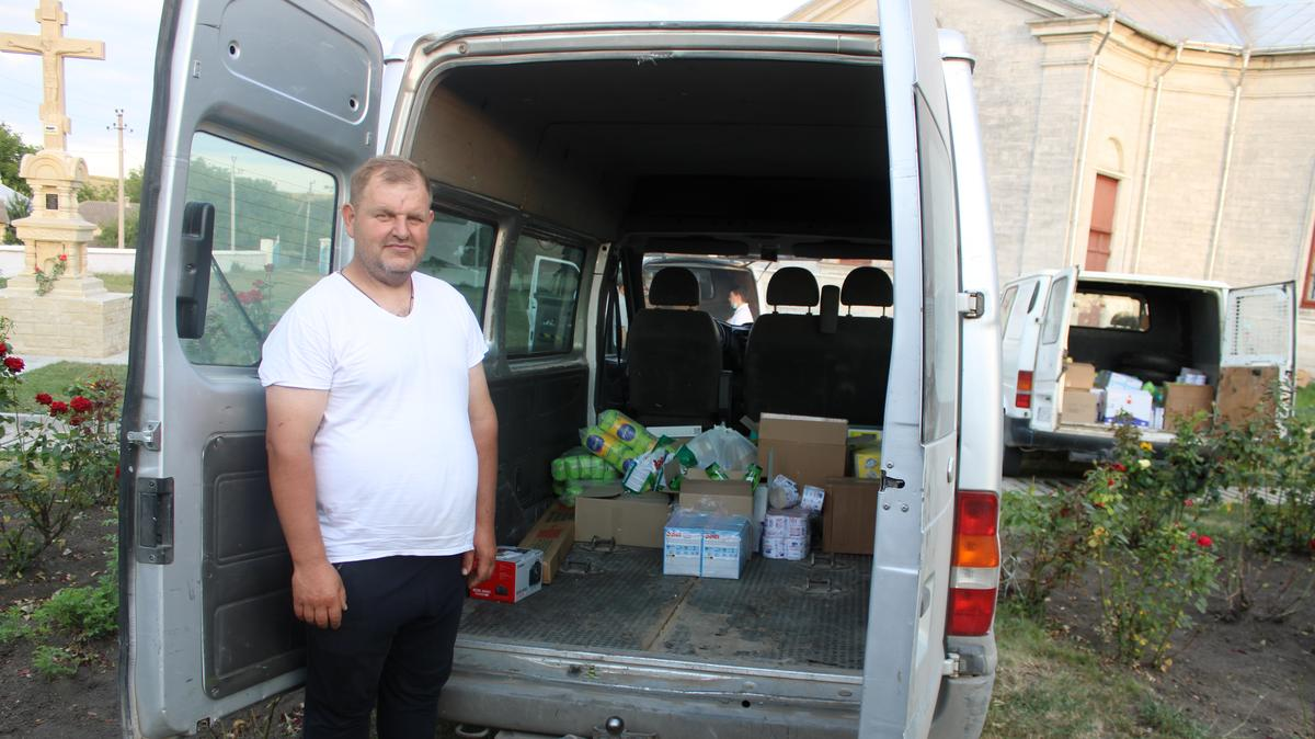 Church or Jesus Christs humanitarian efforts in Moldova