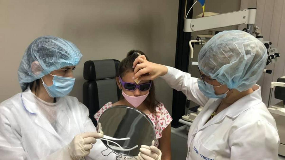 PPE for the Low Vision Center