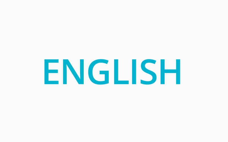 Materials in English