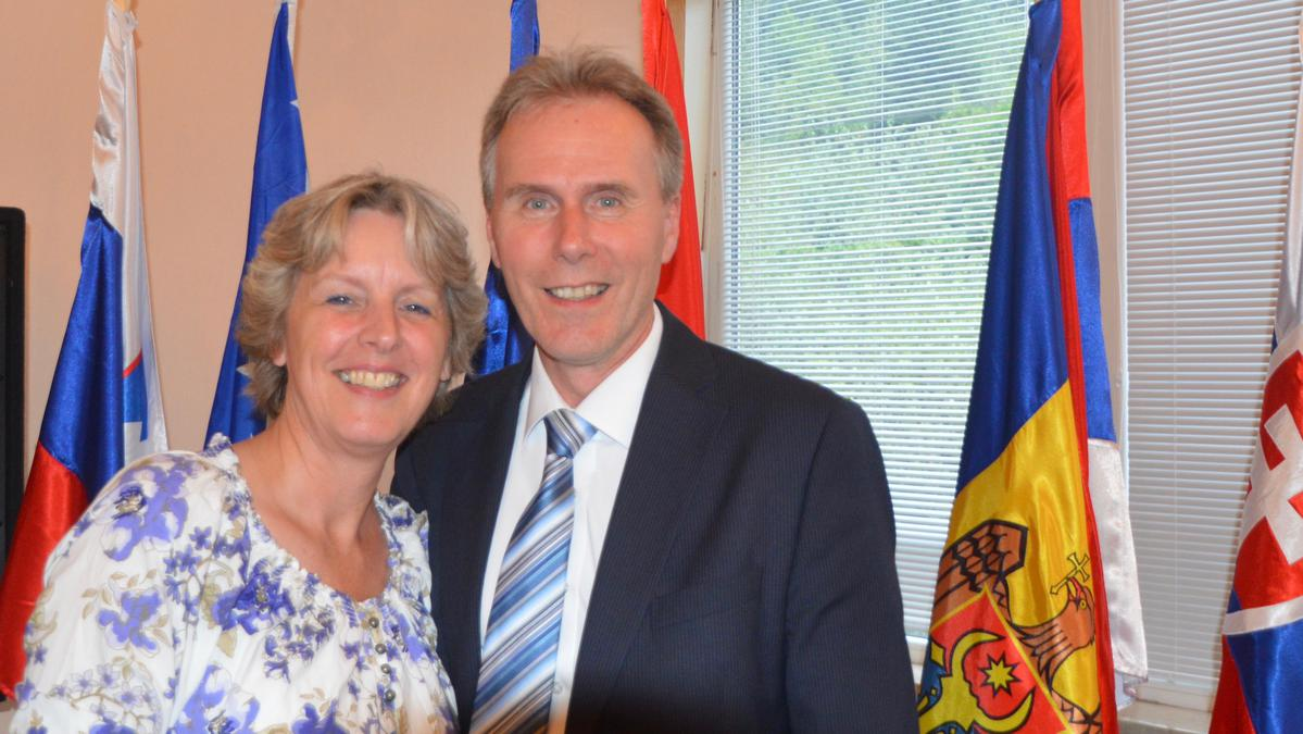 Elder and Sister Hans T. Boom