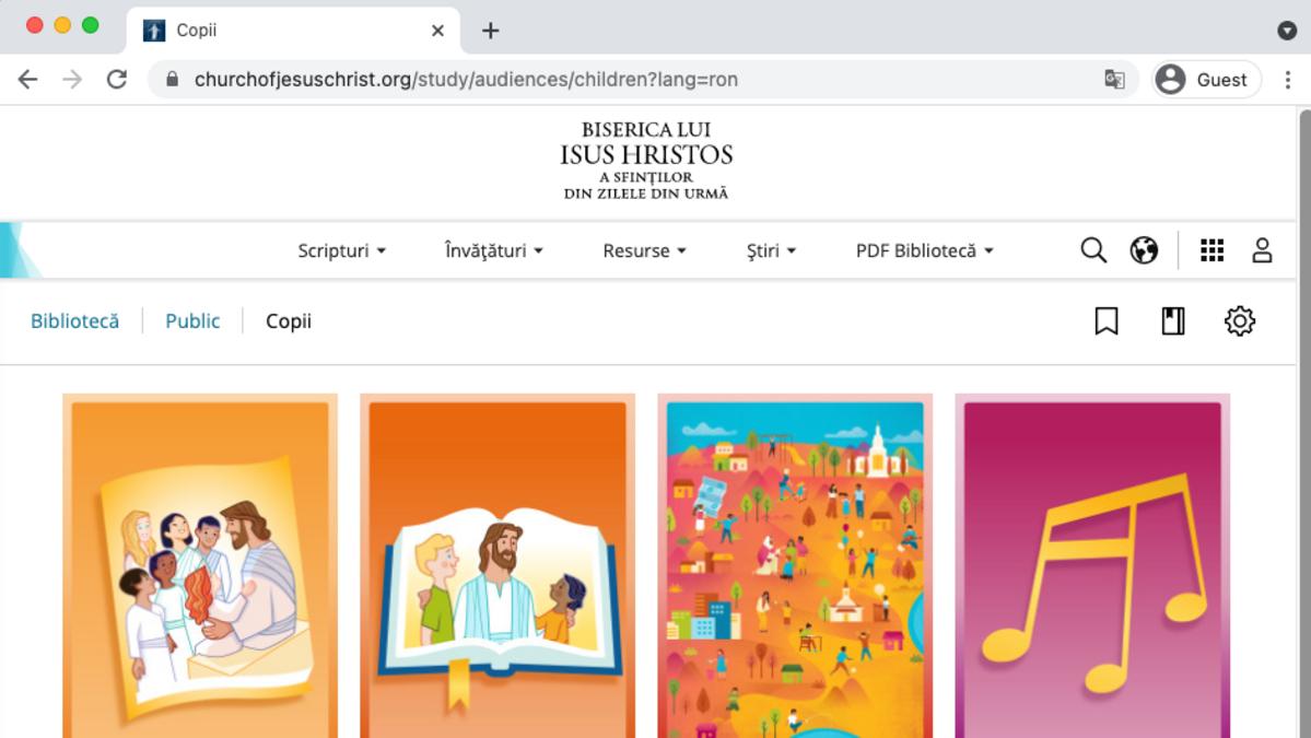 Gospel Library Children's Collection
