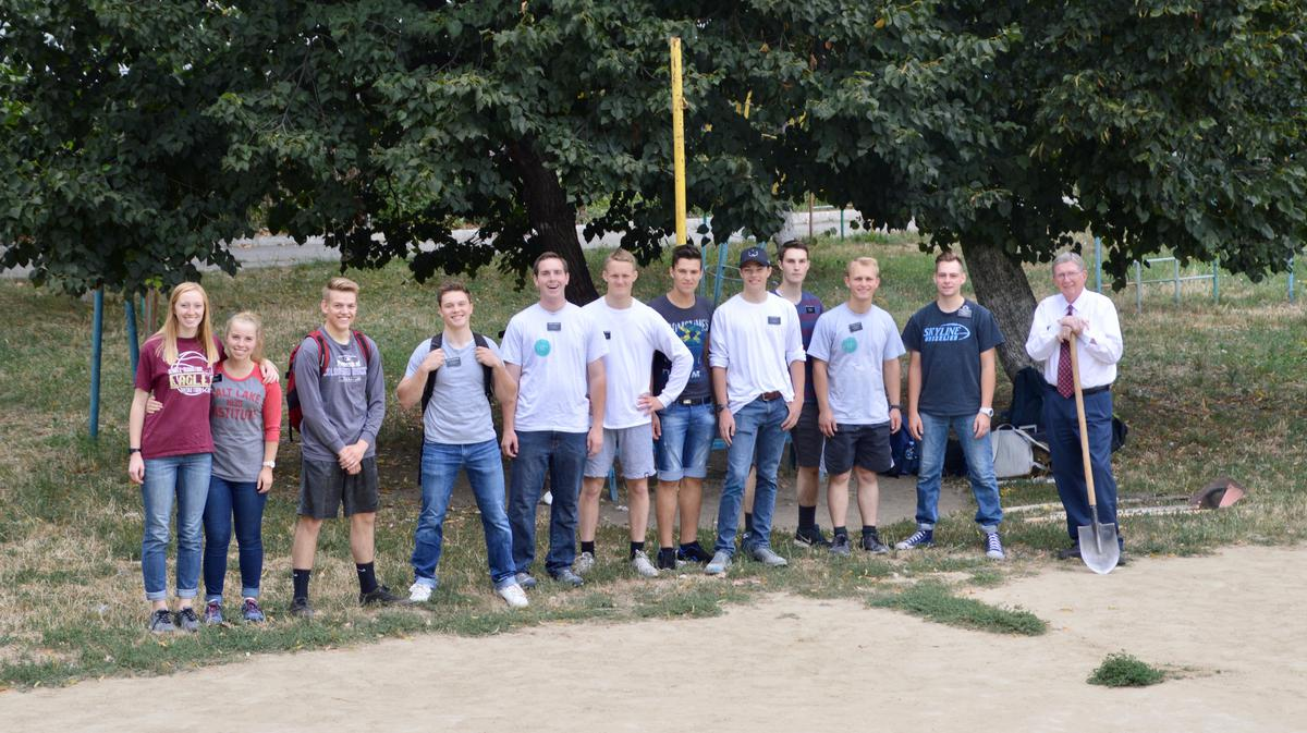 First of 3 Volleyball Service project