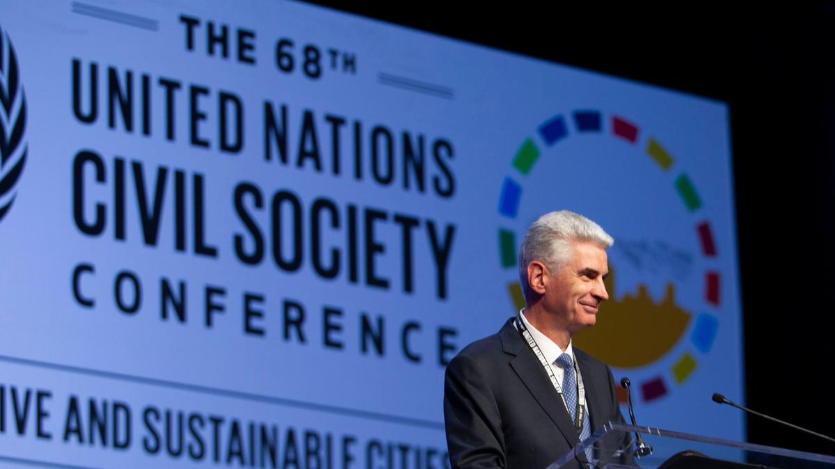 Biserica găzduiește evenimente din cadrul Conferinței Națiunilor Unite din orașul Salt Lake