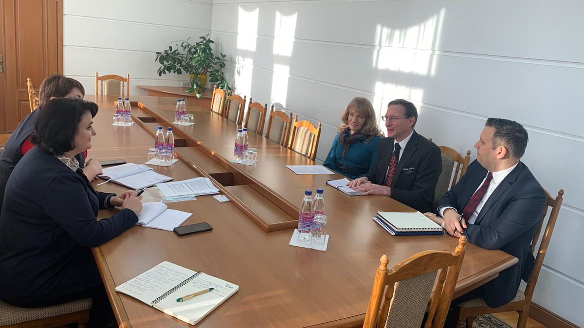 Meeting with Minister