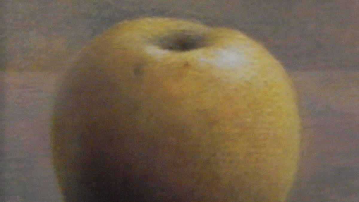 Het gele appeltje