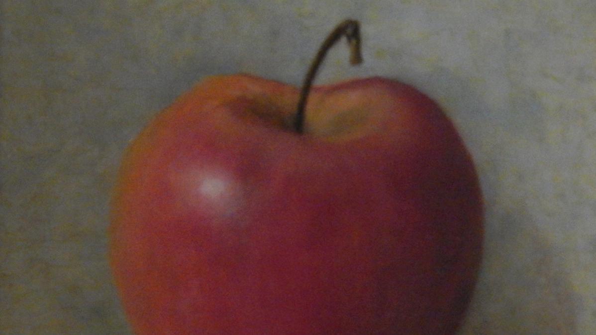 Het rode appeltje