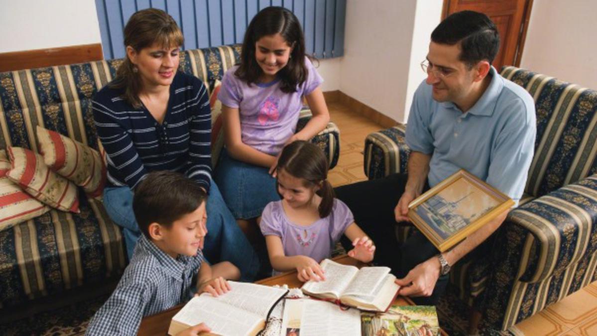 Het voorbeeld van rechtschapen ouders