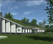 De kerk heeft bij de gemeente Breda het bouwplan ingediend voor een nieuw kerkgebouw aan de Ettensebaan.