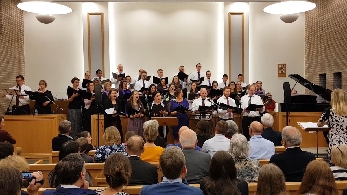 Uitvoering Lamb of God in Apeldoorn