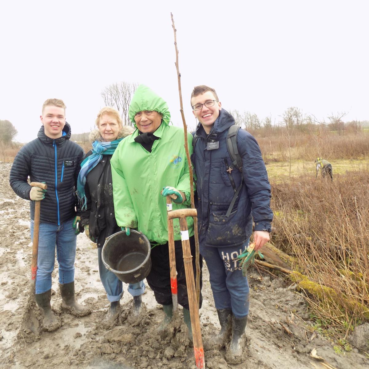 Gemeente Alkmaar – Hulp bij de aanleg van het voedselbos Groene Oase in Koedijk