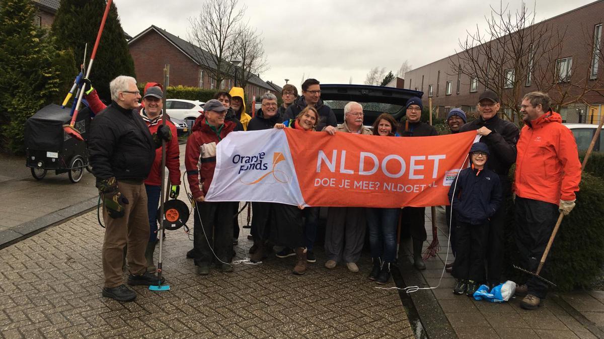 Veel werk verzet op 16 maart voor NL-doet 2019