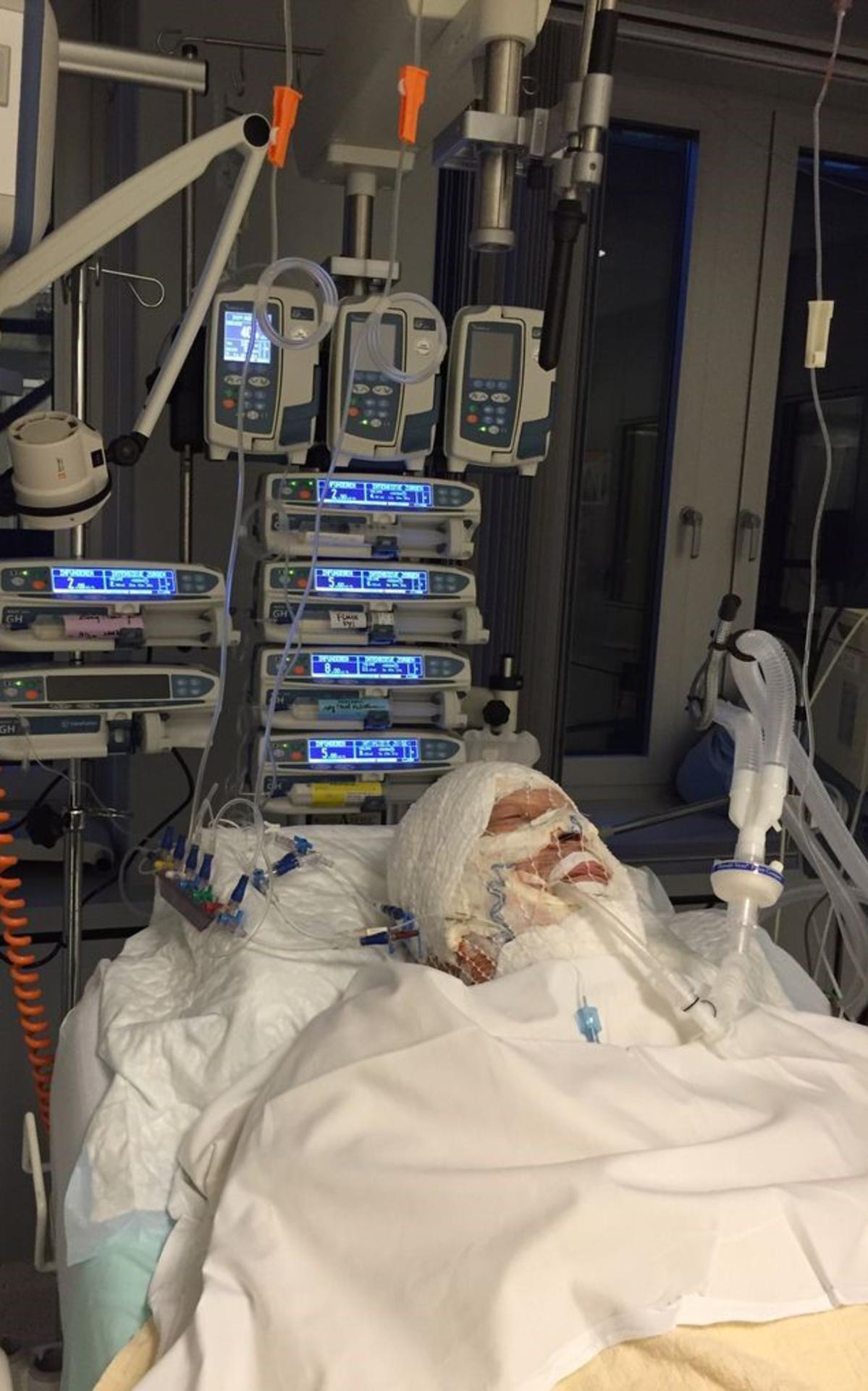 norby in het ziekenhuis