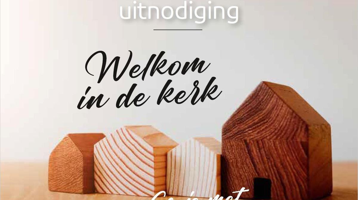 Kerkproeverij in Almere op 28 en 29 September