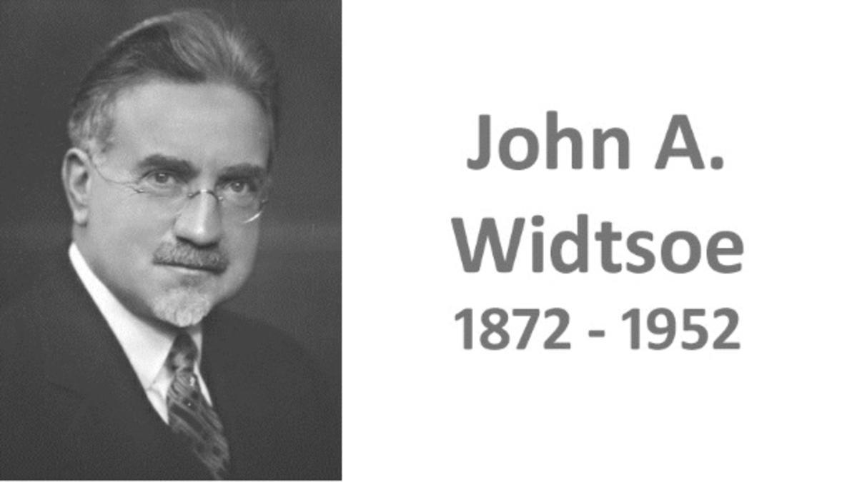 John A Widtsoe får nå en biografi på norsk