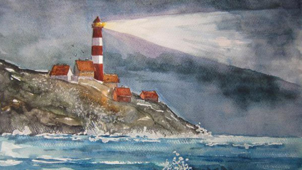 Fyrtårn av Heidi Eljarbø Morrell Andersen