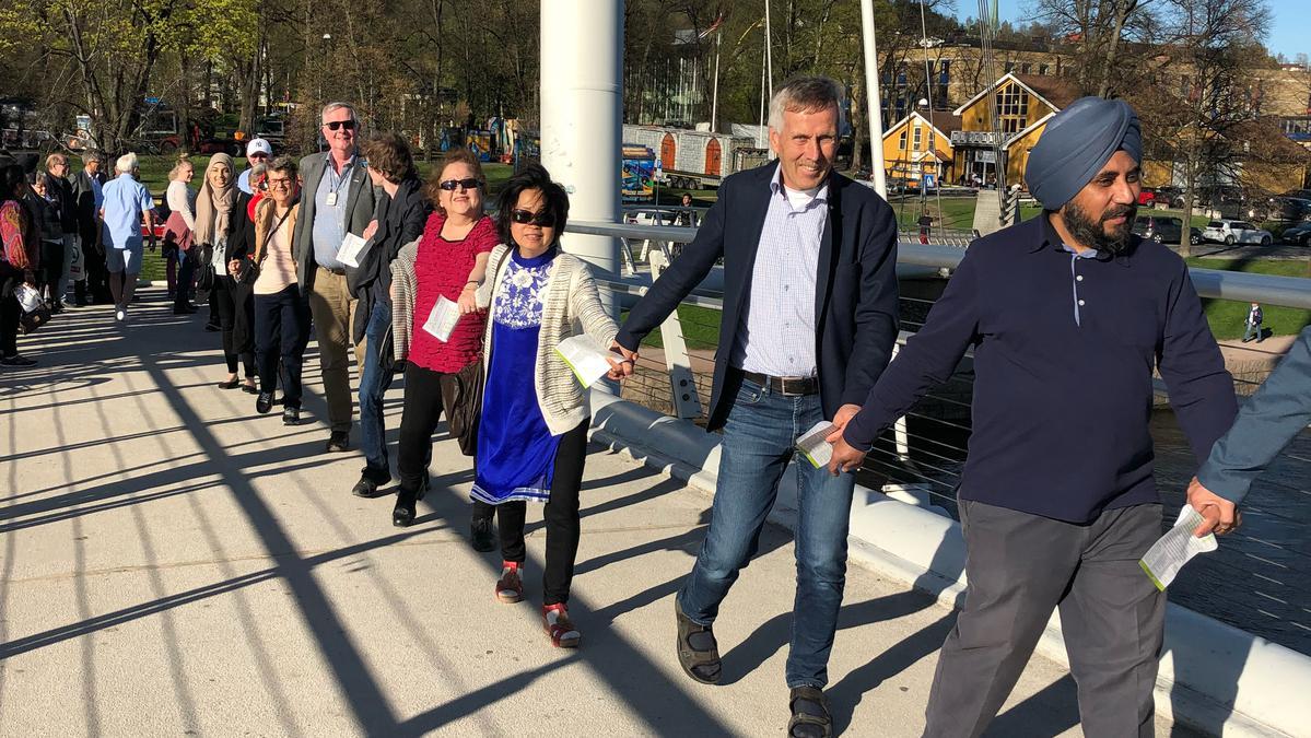Ti år med samarbeid i Drammen