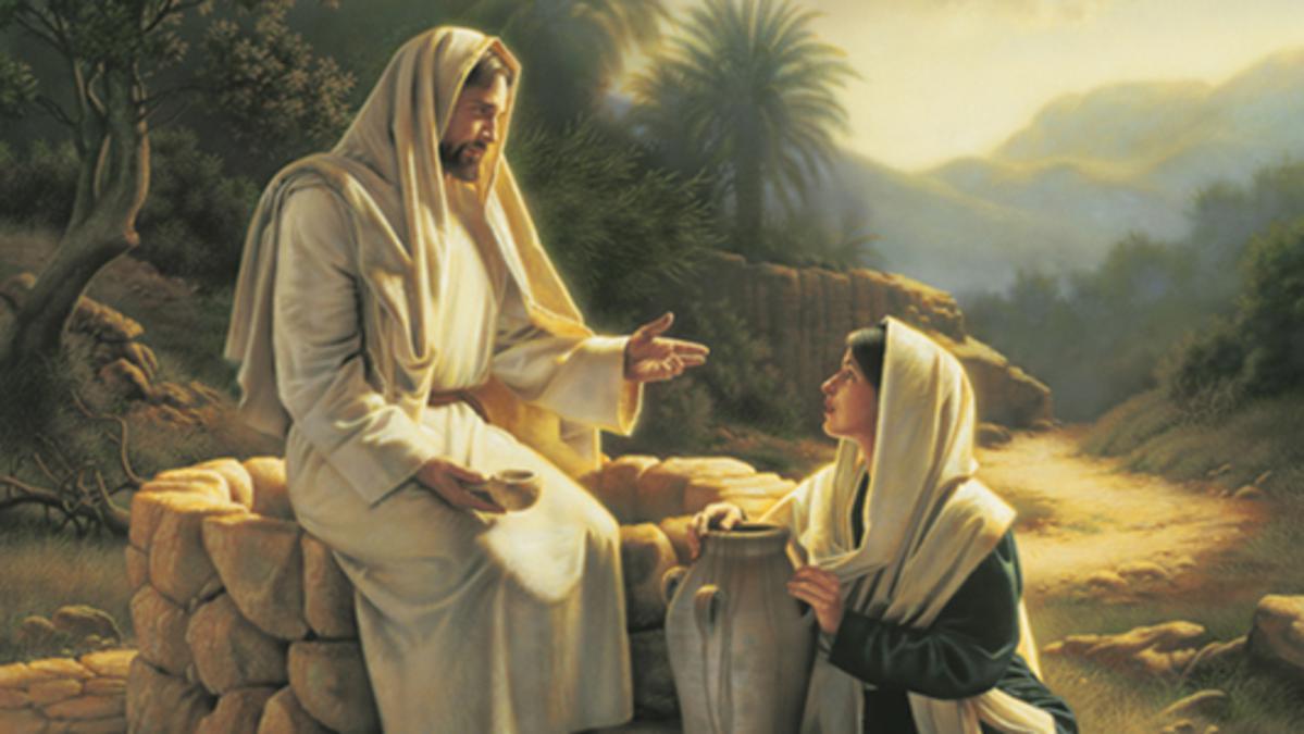 Jesus og kvinnen ved brønnen