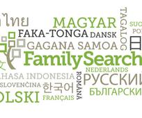 FamilySearch på flere språk.