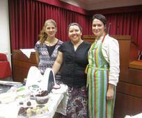 As irmãs, Sueli Lourenço, Luciene Bezerra e Dulce Mourato